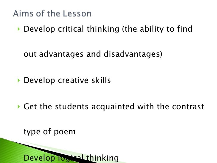 benefits of developing critical thinking skills