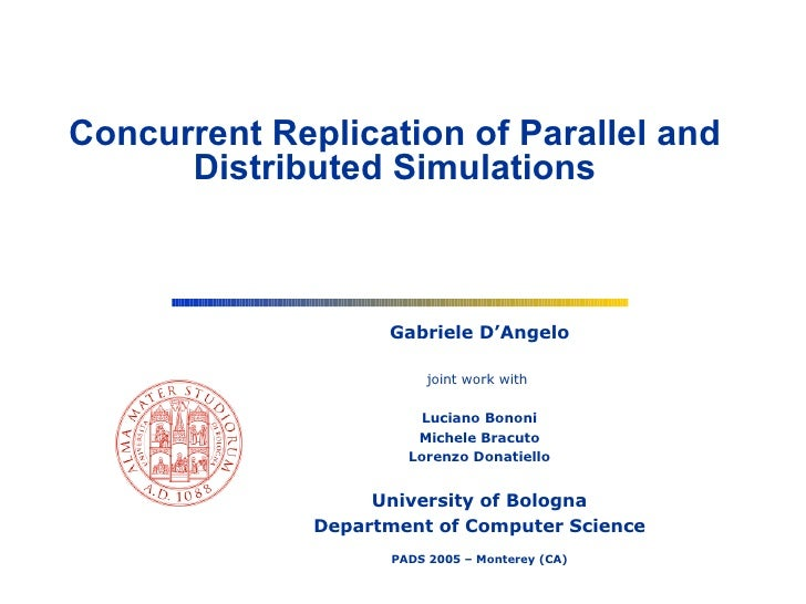 Concurrent Replication of Parallel and Distributed Simulations