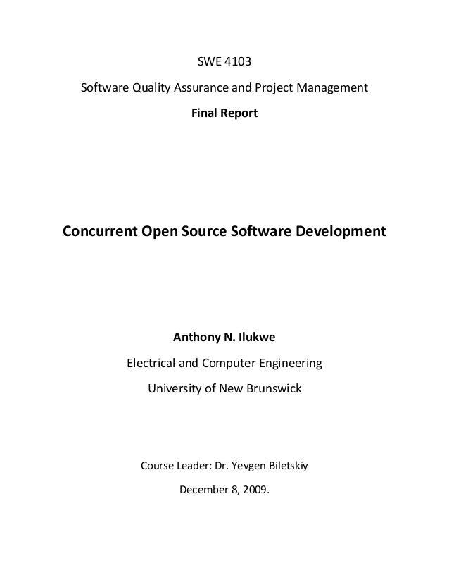 Concurrent Open Source Software Development