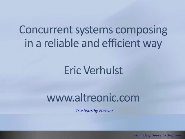 Concurrent systems composing