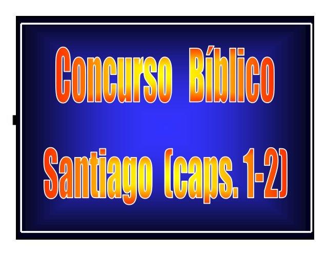 Concurso bíblico santiago