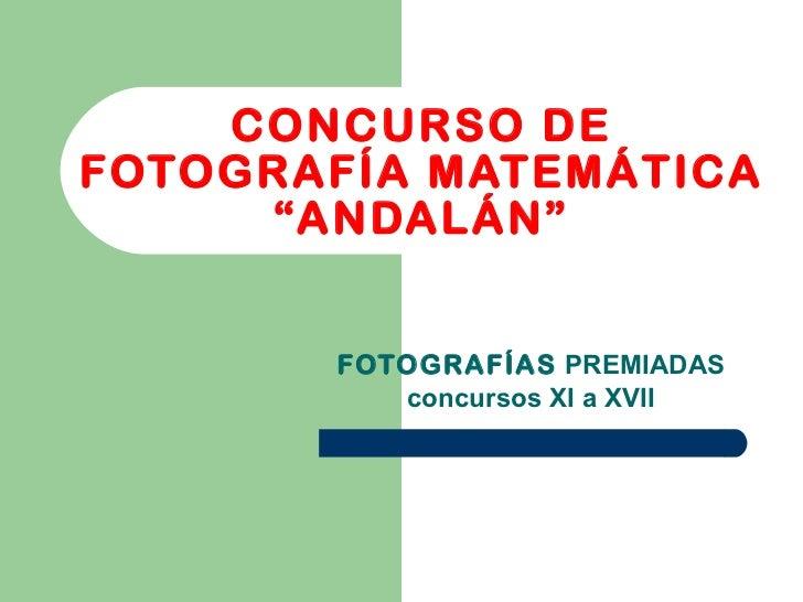 Concurso de fotografia_matematica_andalan_parte_2