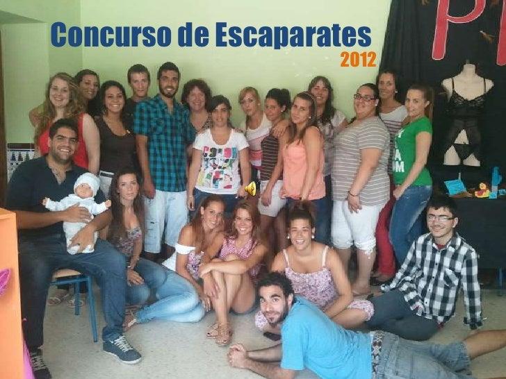 Concurso de Escaparates                    2012