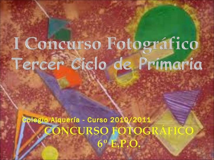 Colegio Alquería - Curso 2010/2011