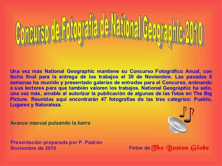Concurso fotos 2010