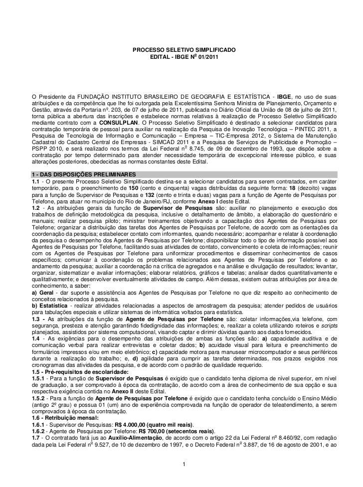 Concurso ibge edital pss 2011_apt_sp