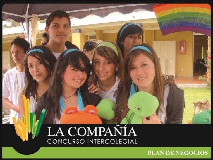 """Concurso Intercolegial """"La compañía"""" 7ma. Edición Plan de Negocios"""