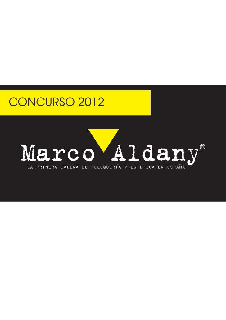 Concurso marco aldany