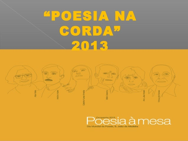 Concurso poesia na corda 2013