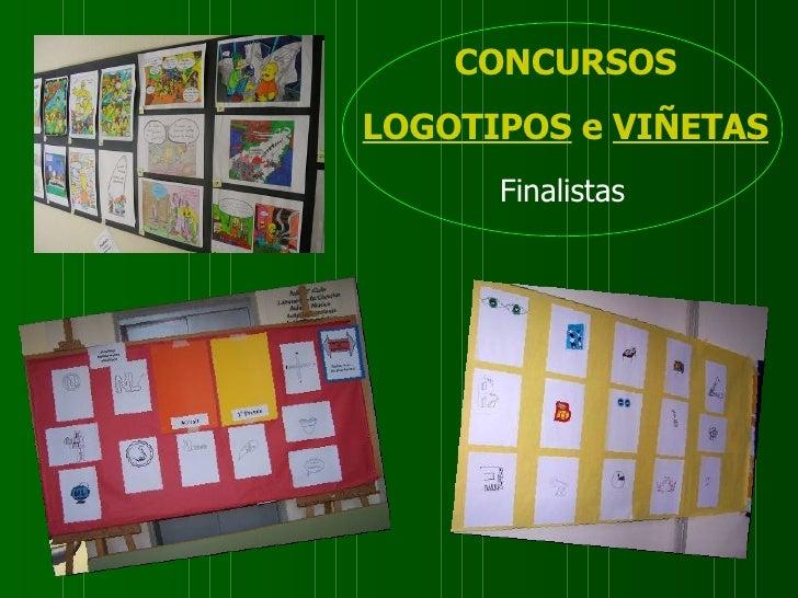 CONCURSOS LOGOTIPOS   e   VIÑETAS Finalistas