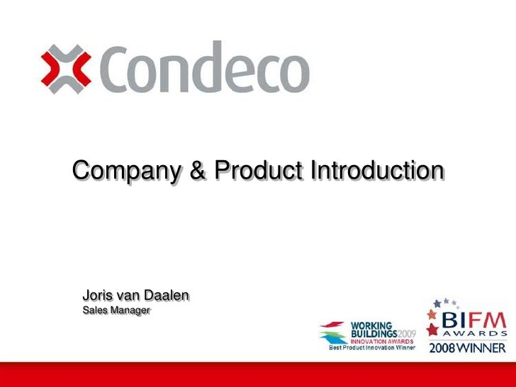 Joris van Daalen<br />Sales Manager<br />Company & Product Introduction<br />