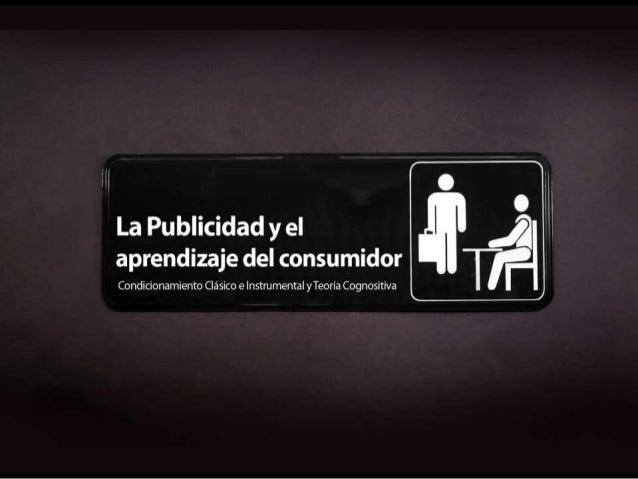 Condicionamiento clasico e instrumental en publicidad