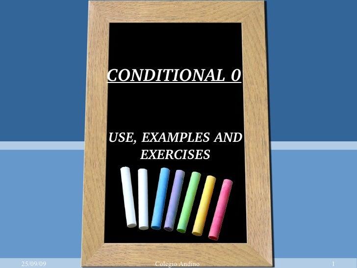 Conditional 0