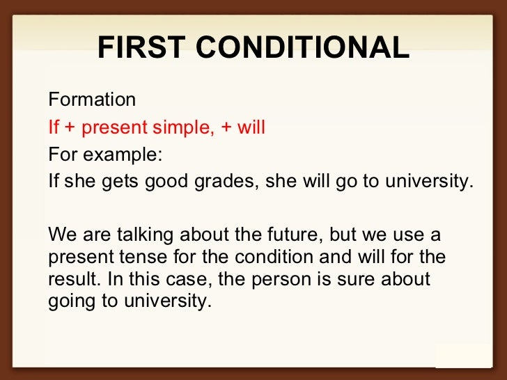 if condition in english grammar pdf