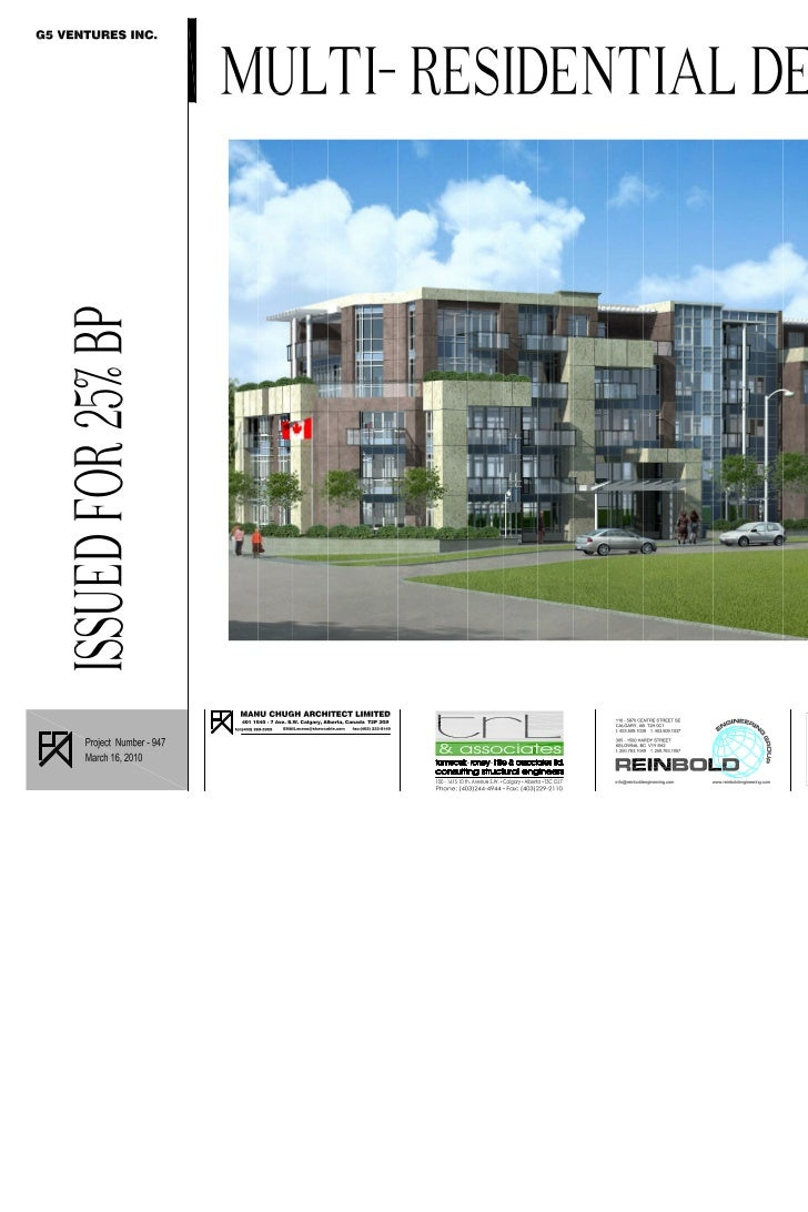 Condo - Approved Plans