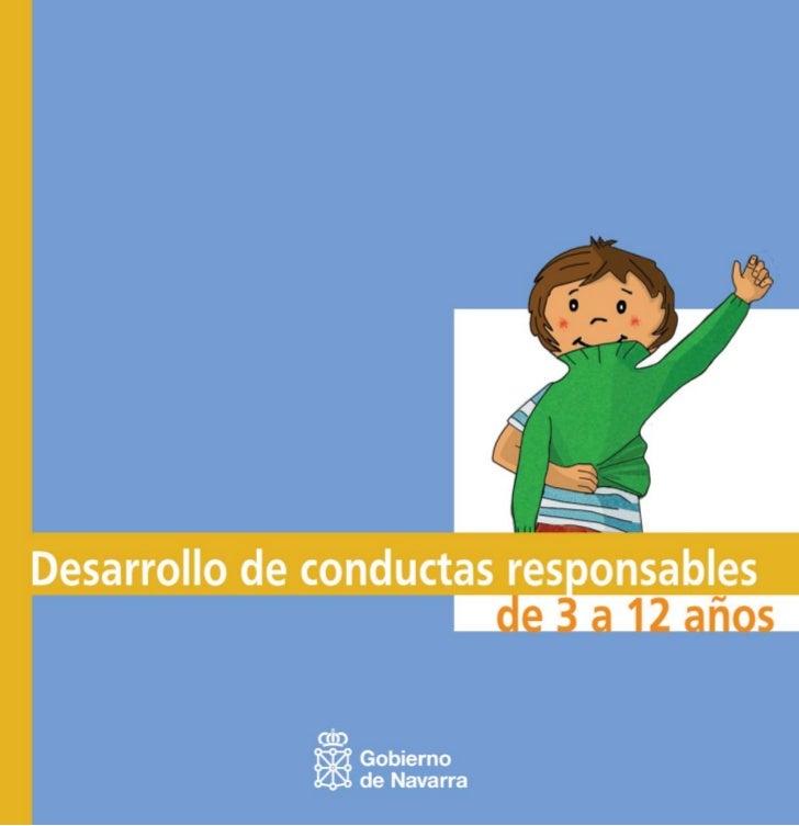 Desarrollo de conductas responsables de 3 a 12 años