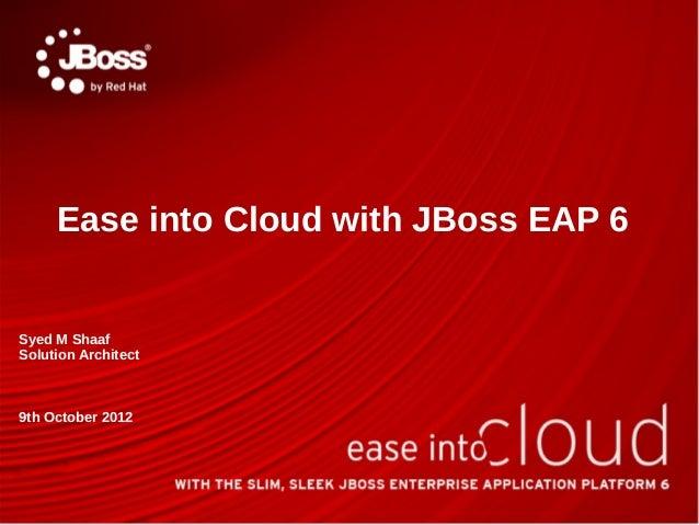 Conduct JBoss EAP 6 seminar