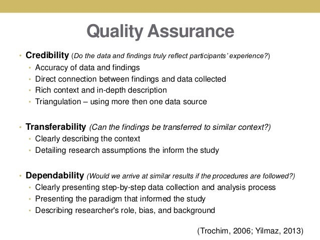 Dissertation on transferability in qualitative research