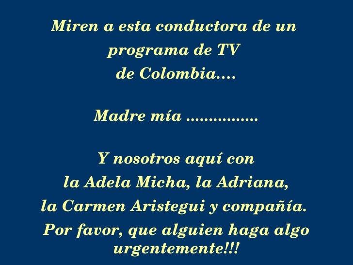 Conductoras de TV