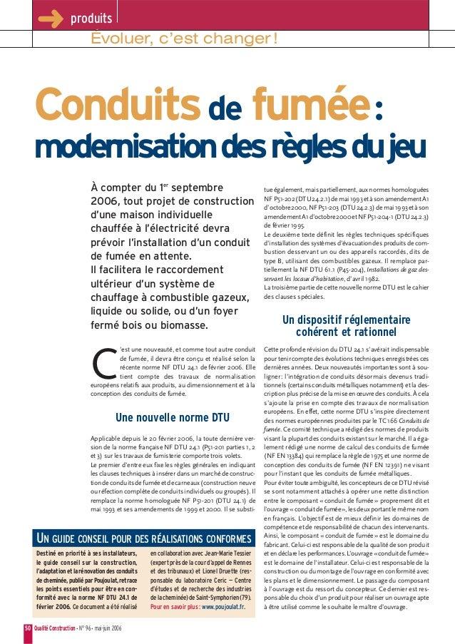 Conduits de fumee_modernisation_des_regles_du_jeu