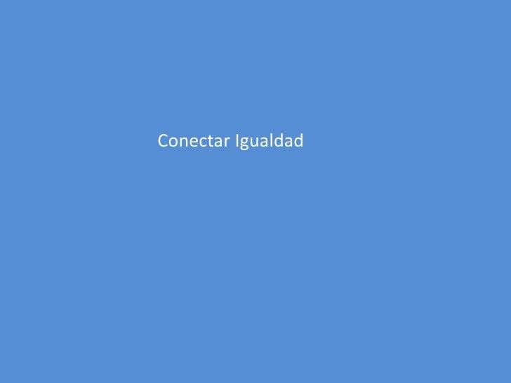 Conectar igualdad programas netbooks