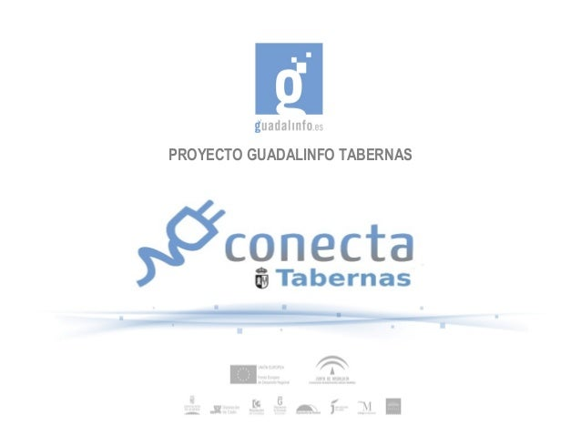 PROYECTO GUADALINFO TABERNAS