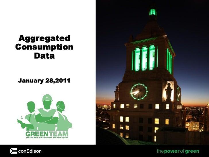 AggregatedConsumption    DataJanuary 28,2011                  January 28, 2011