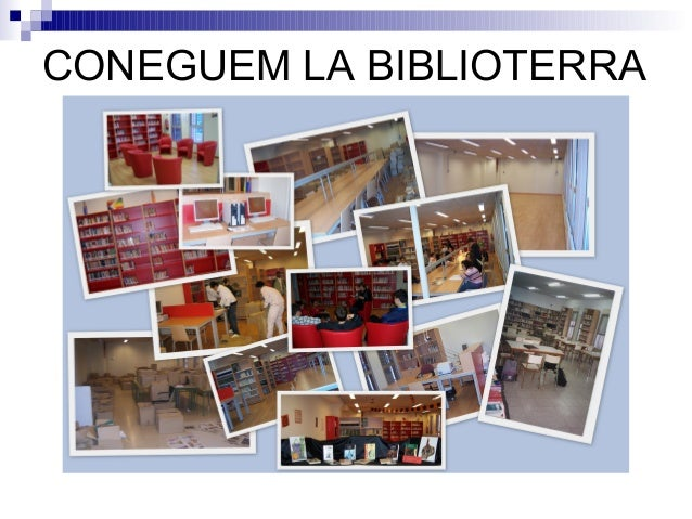 CONEGUEM LA BIBLIOTERRA