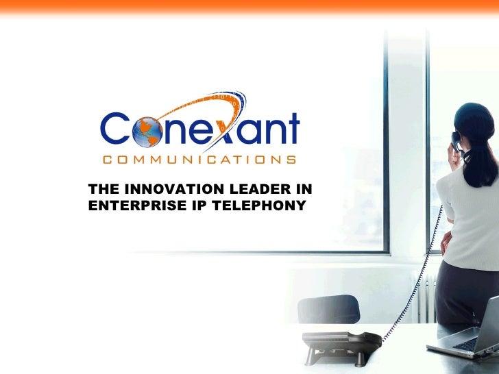 Conexant  Enterprise Ip Telephony