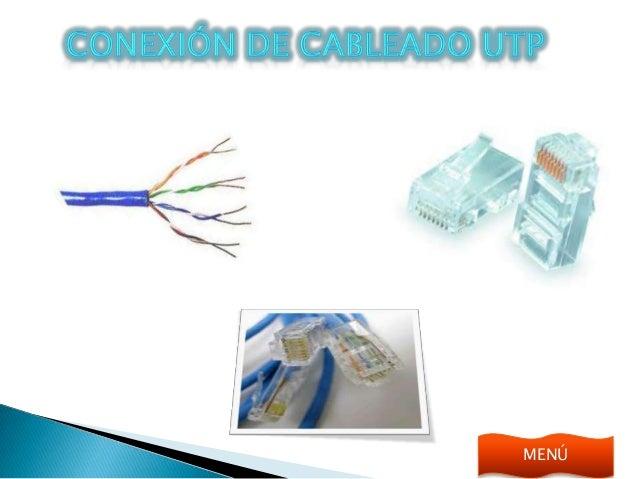 Conexión de cableado utp