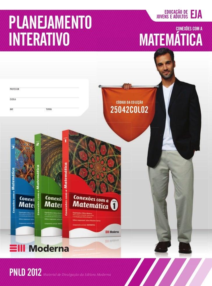 Conexoes com a Matematica - EJA - planejamento interativo