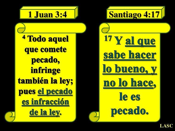 YO SOY EL BUEN PASTOR: Santiago 4:17