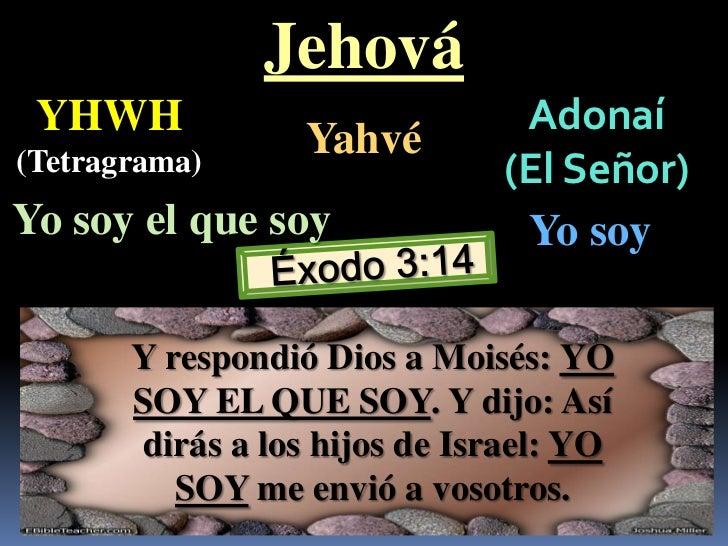 Resultado de imagen para exodo 3:14