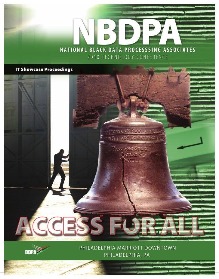 BDPA IT Showcase Guide (2010)