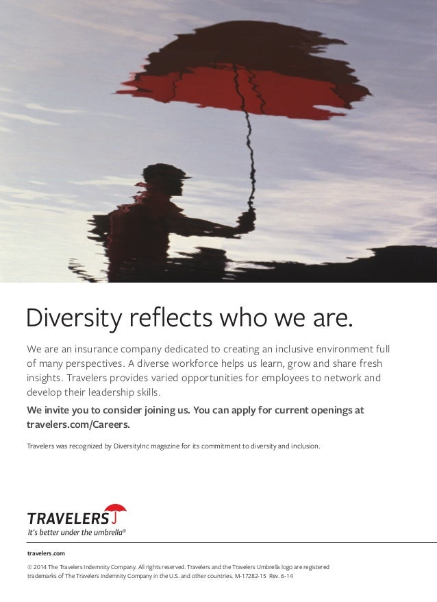 travelers.com © 2014 The Travelers Indemnity Company. All rights reserved. Travelers and the Travelers Umbrella logo are r...