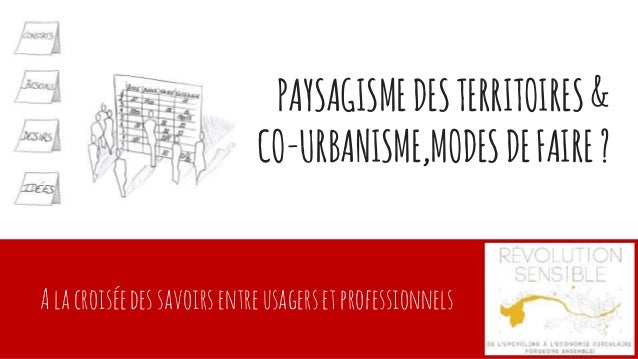 Conf rence paysagisme territorial et co urbanisme salon for Salon de l habitat rennes