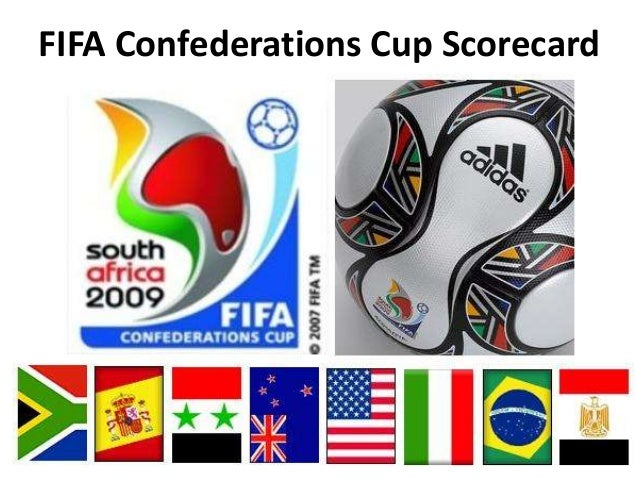 FIFA Confederations Cup Scorecard(c) BrandOvation 2012. All Rights Reserved