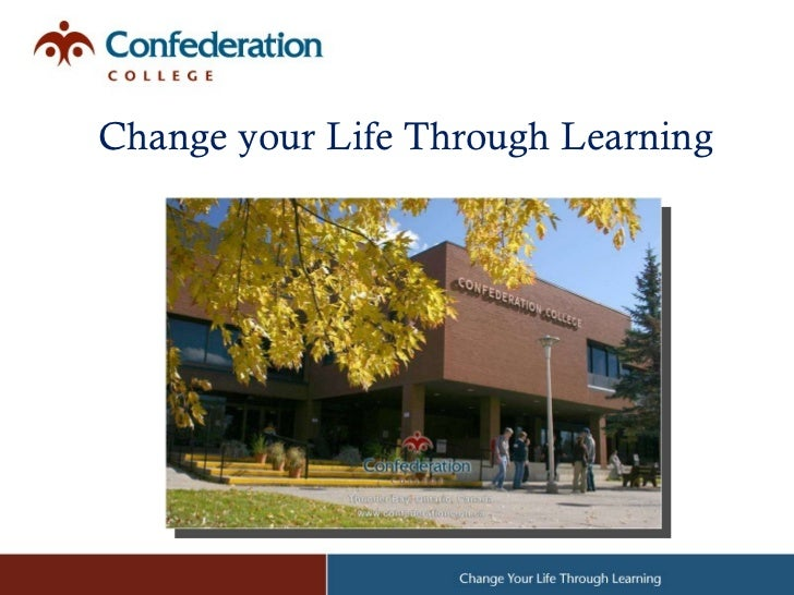 Confederation college ppt