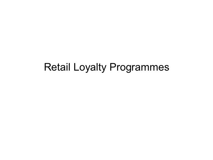 Loyalty Programme Marketing