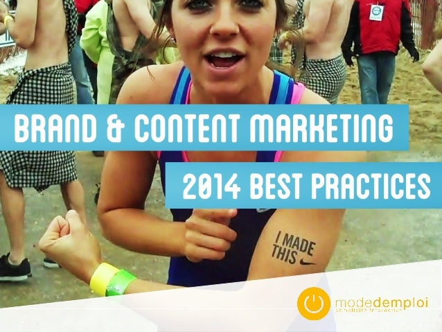 BRAND&CONTENTMARKETING 2014BESTPRACTICES