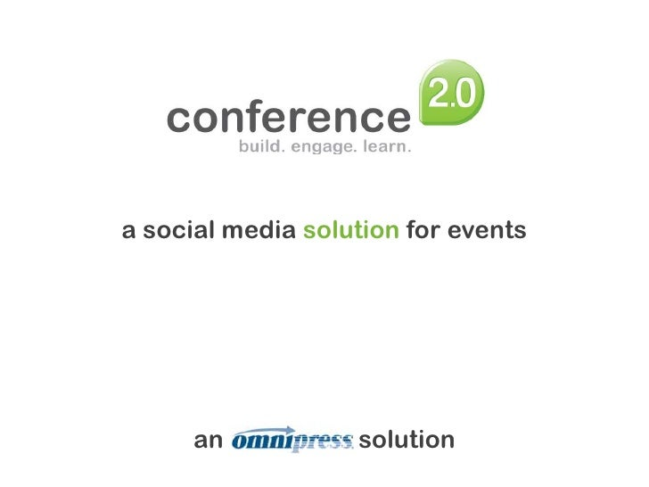 a social media solutionfor events<br />an   nipres   s solution<br />