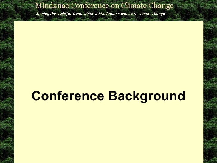 Conference Background