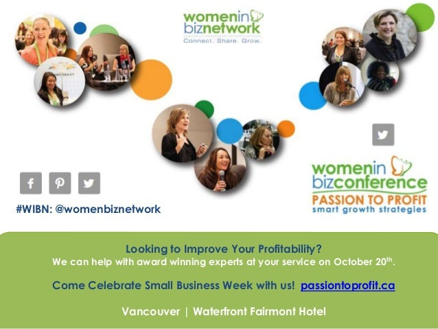 #WIBN: @womenbiznetwork Looking to Improve Your Profitability? We can help with award winning experts at your service on O...
