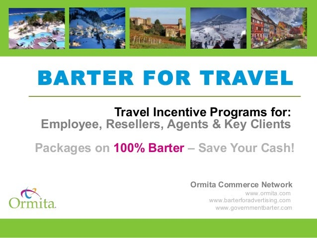 Conference Package Barter - Ormita Commerce Network