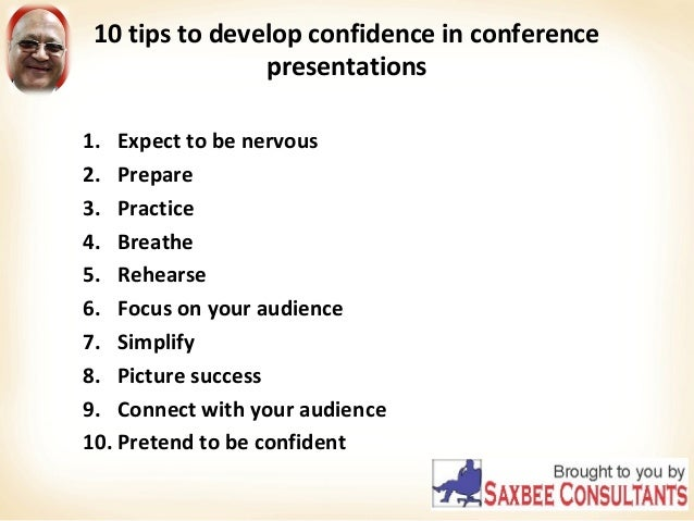 Confidence troubles speaking to an audience, please help?
