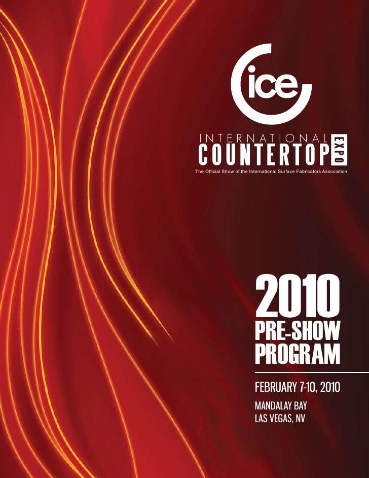 ICE International Countertop Expo