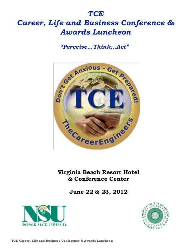 2012 TCE Career & Biz Booklet (2013 is coming soon!)