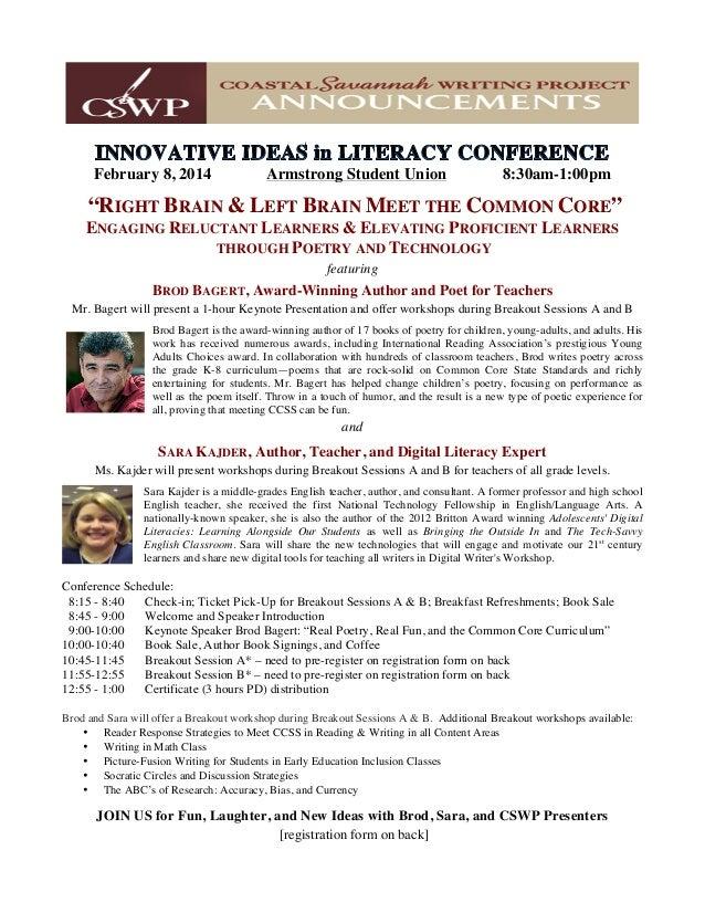 UPDATED Conference Registration Flyer