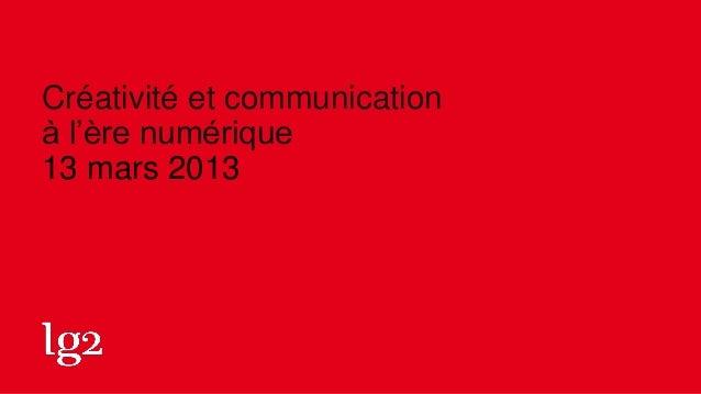Conférence sc mars2013
