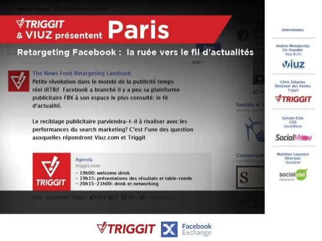 Conference triggit viuz  retargeting newsfeed facebook